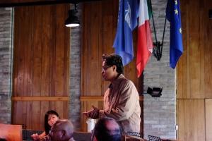 Antusiasme peserta dalam diskusi.